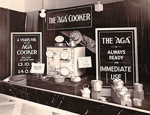 An Aga Display from 1927