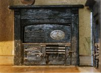 The doll's house Cottage Stove