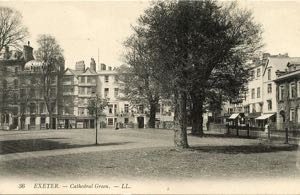 Early view of Cathedral Green