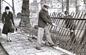 Removing the railings