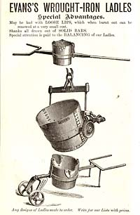 Advert for ladle