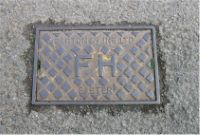 Cover, Diamond Pattern FH Fire Hydrant NEWTON ABBOT