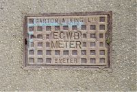 Cover, East Cornwall Water Board Meter SALTASH