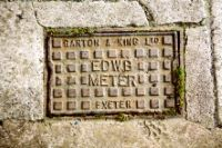 Cover, East Devon Water Board Meter