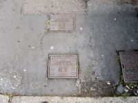 Cover, East Devon Water Board Stop Valve Square