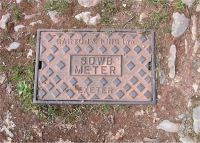 Cover, South Devon Water Board Meter NEWTON ABBOT