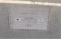 Cover, Square Pattern East Devon Water Board Air Valve