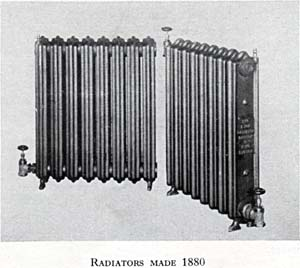 Radiators Made 1880