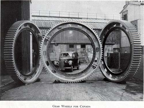 Gear Wheels for Canada