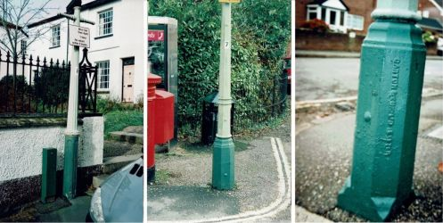 Lamp Posts at Topsham, Powderham Crescent and Marlborough Avenue