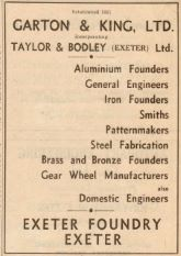 E & E Advert, July 1956
