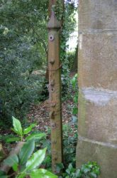 Gate or Fence Pillar, Lopes Hall Exeter