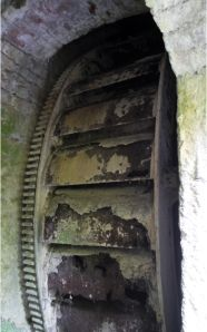 1881 T & B Wheel at Horsington Mill, Templecombe