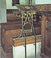 The Garton and King lectern