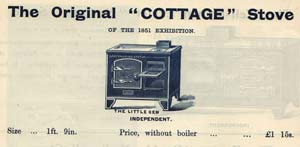 The Original Cottage stove