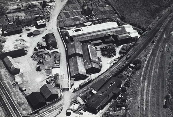1947 Aerial View - North