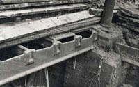 Construction of cast iron girders